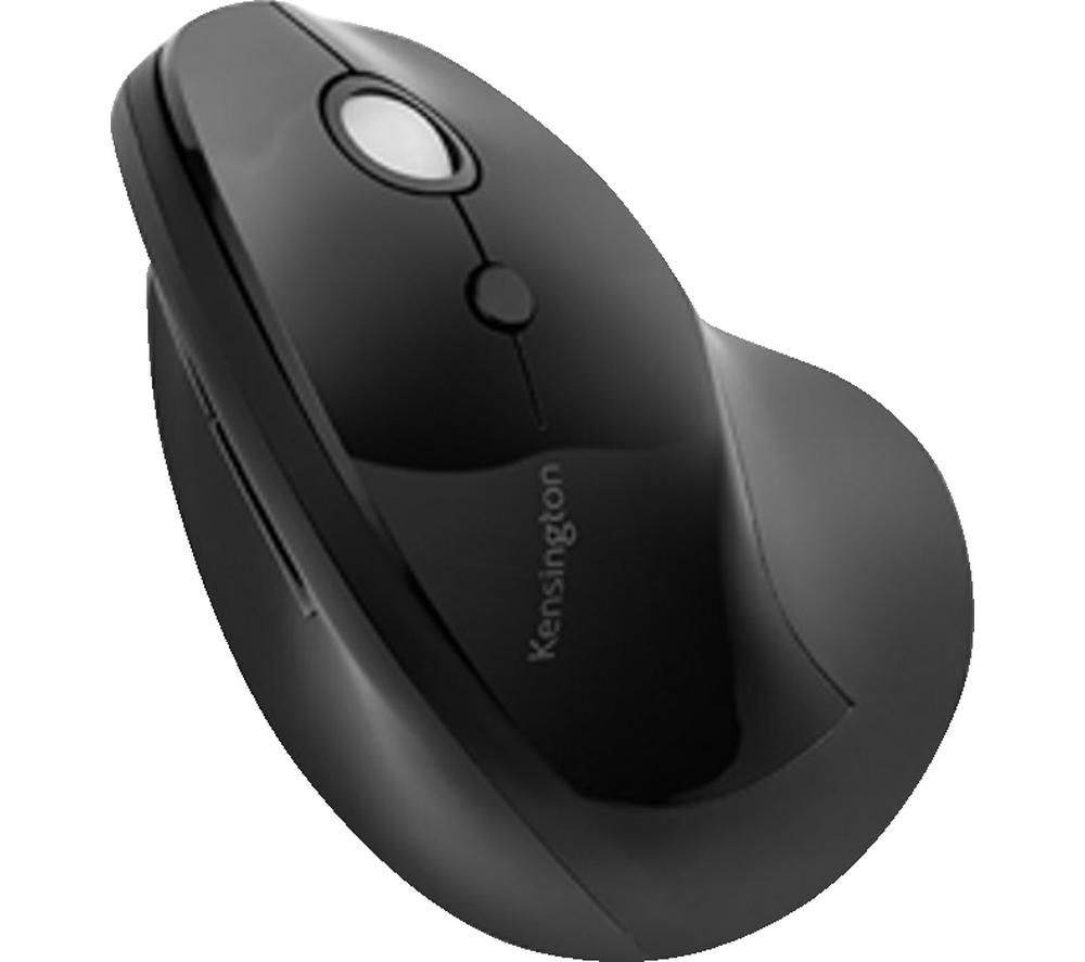 Image of Kensington Pro Fit Ergo Vertical Wireless Mouse - vertical mouse - 2.4 GHz - black