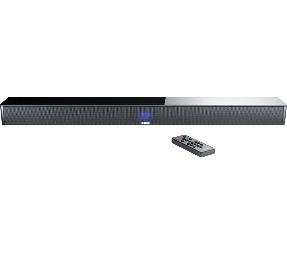 CANTON Smart Soundbar 9 2.1 Sound Bar - Black, Black