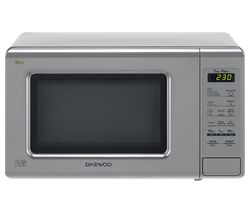 DAEWOO KOR6M1RDSL Solo Microwave - Silver Best Price, Cheapest Prices