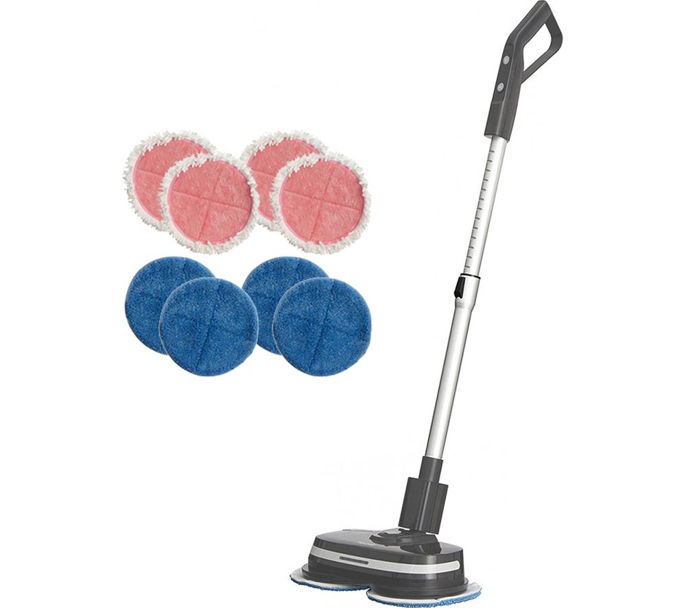 Image of AIRCRAFT PowerGlide+ Upright Hard Floor Cleaner - Grey, Grey