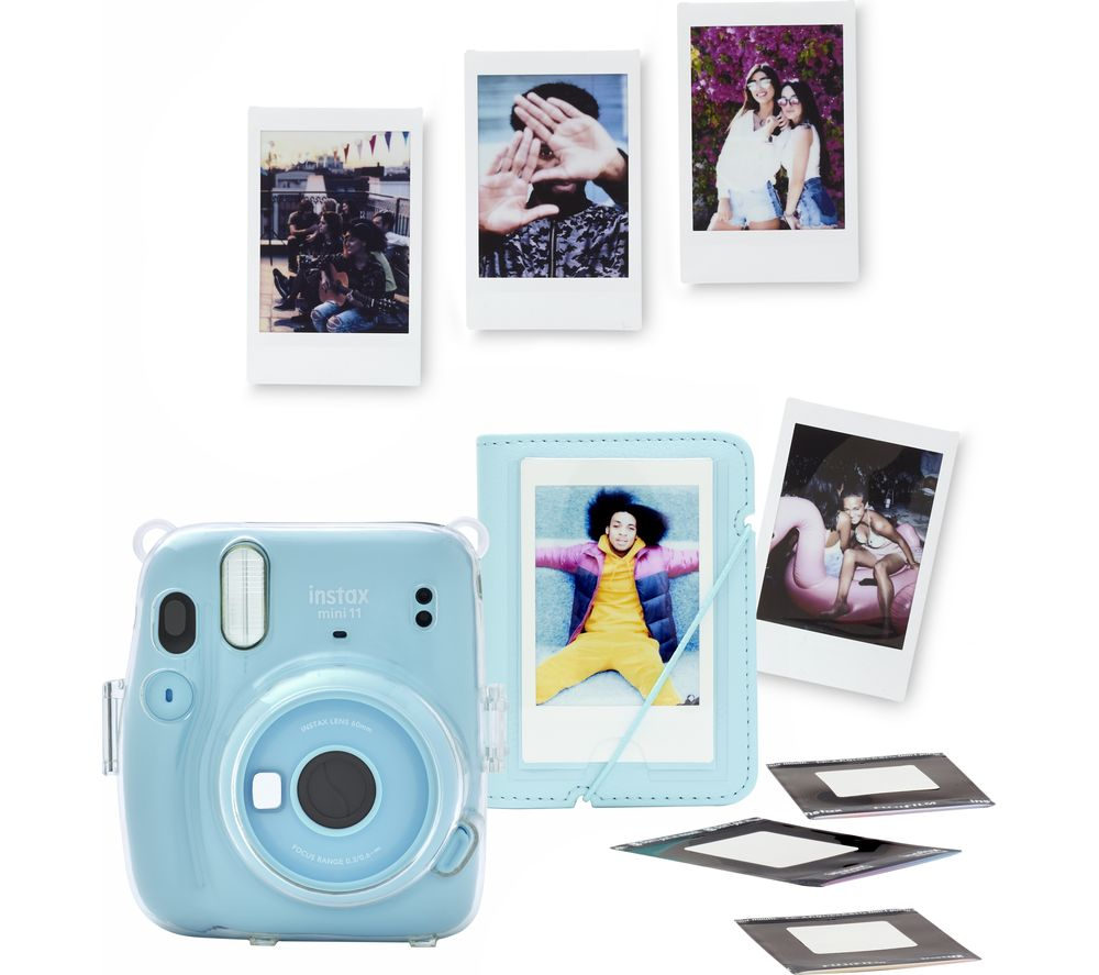 Click to view product details and reviews for Instax Mini 11 Instant Camera Bundle Sky Blue Blue.