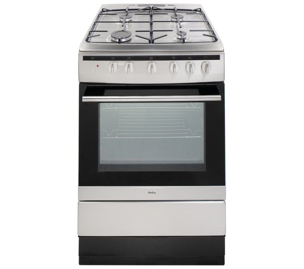 AMICA 608GG5MSXX 60 cm Gas Cooker - Stainless Steel