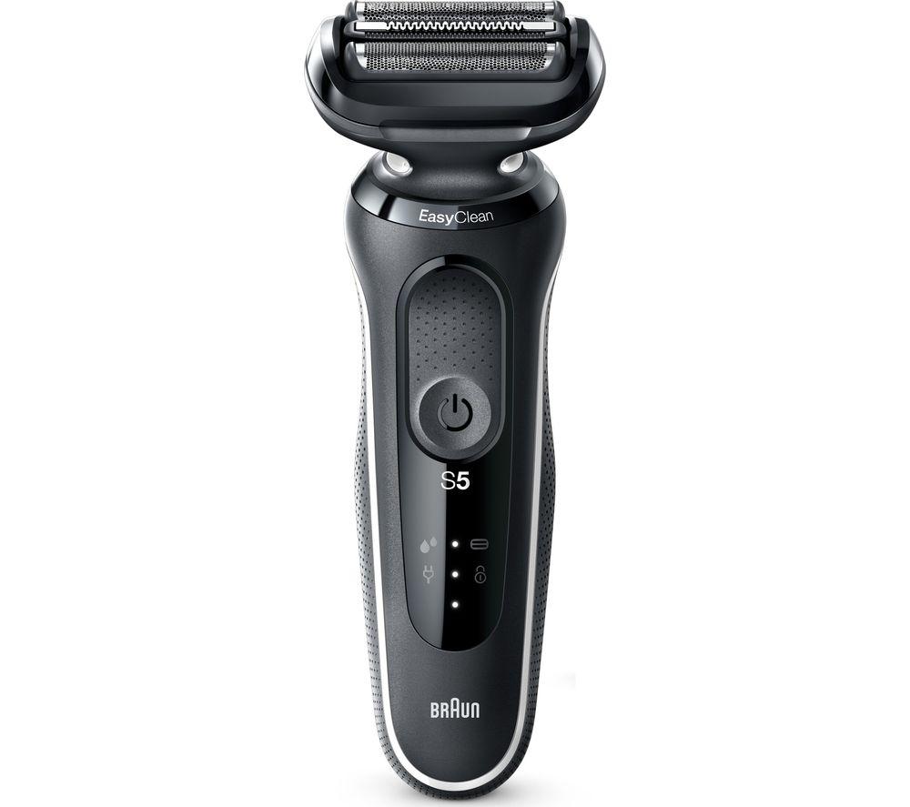 BRAUN Series 5 50-W4650cs Wet & Dry Foil Shaver - Black & White