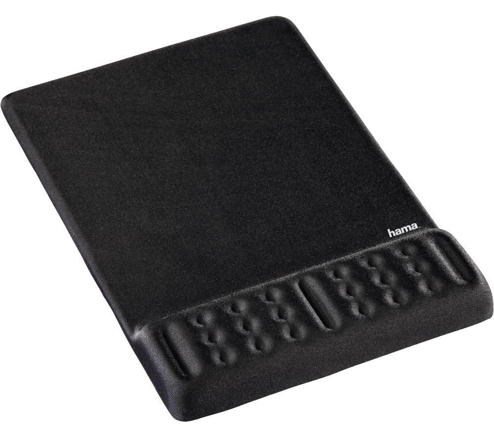 Image of HAMA Profile 54773 Mouse Mat - Black, Black