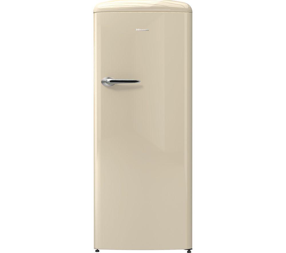 HISENSE RR330D4OC2UK Tall Fridge - Cream
