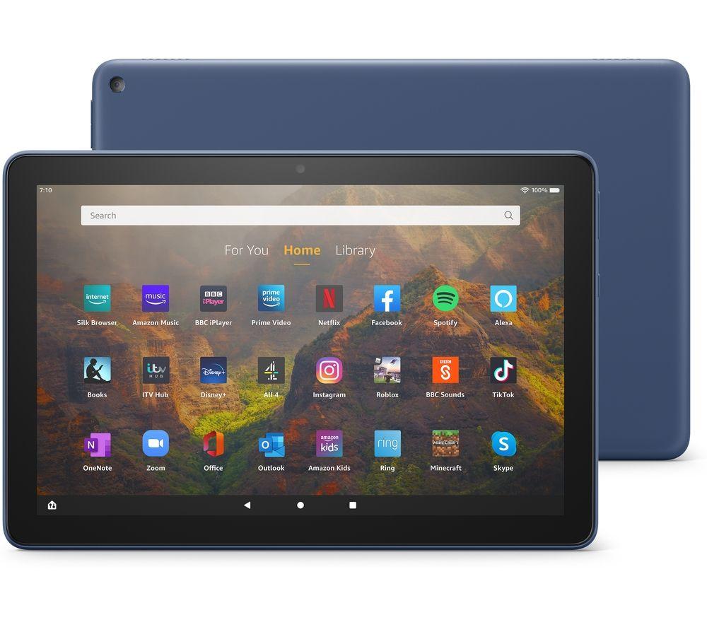 "AMAZON Fire HD 10 10.1"" Tablet (2021) - 32 GB, Denim"