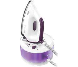 CareStyle Compact IS2144.VI Steam Generator Iron - White & Purple