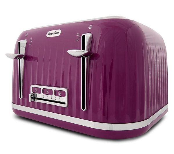 Buy Breville Impressions Vtt634 4 Slice Toaster Purple