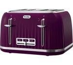 BREVILLE Impressions VTT634 4-Slice Toaster - Purple