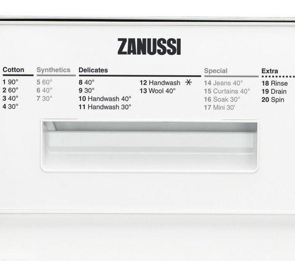 buy zanussi zwi71401wa integrated washing machine white free rh currys co uk