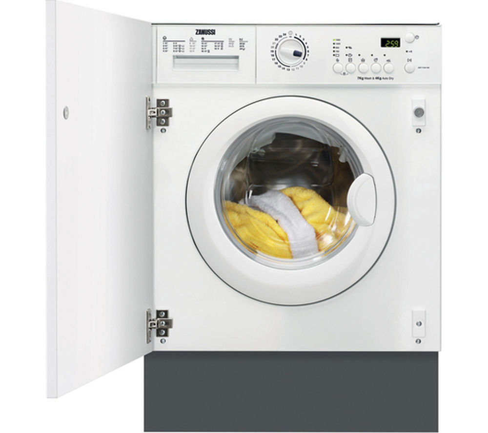 Buy Zanussi Zwi71401wa Integrated Washing Machine White