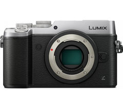 PANASONIC Lumix DMC-GX8 Mirrorless Camera - Silver, Body Only