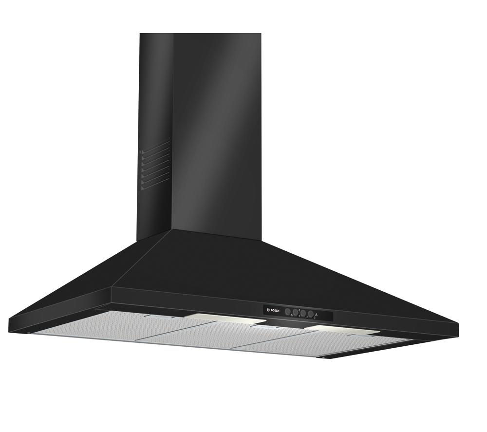 BOSCH DWW09W460B Chimney Cooker Hood - Black