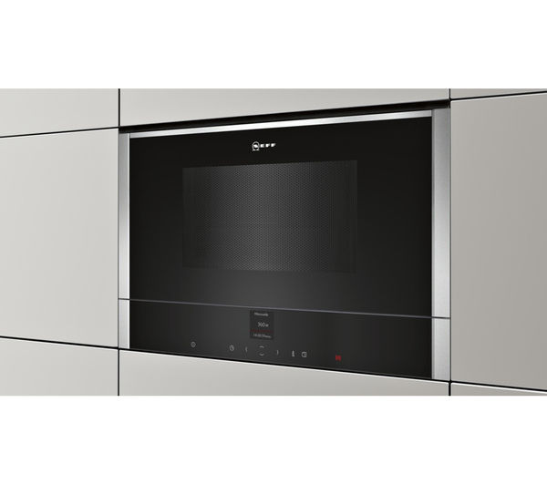 Neff C17wr00n0b Built In Solo Microwave Stainless Steel