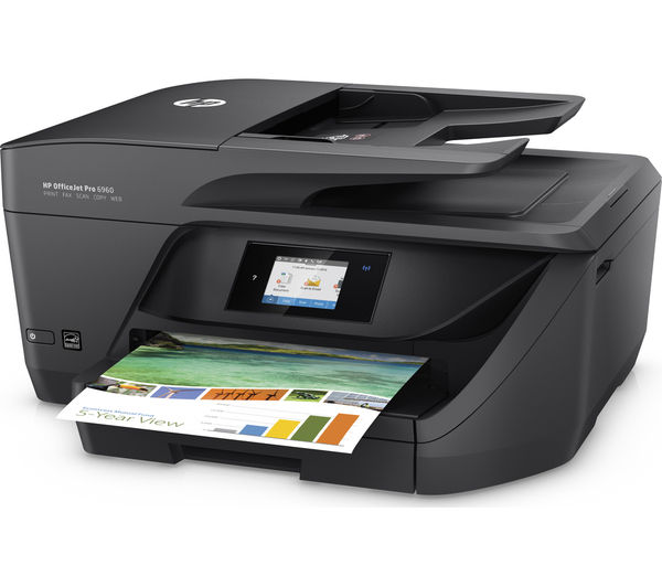 hp officejet pro 6960 all in one wireless inkjet printer with fax deals pc world. Black Bedroom Furniture Sets. Home Design Ideas