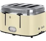 RUSSELL HOBBS Retro 21692 4-Slice Toaster - Cream