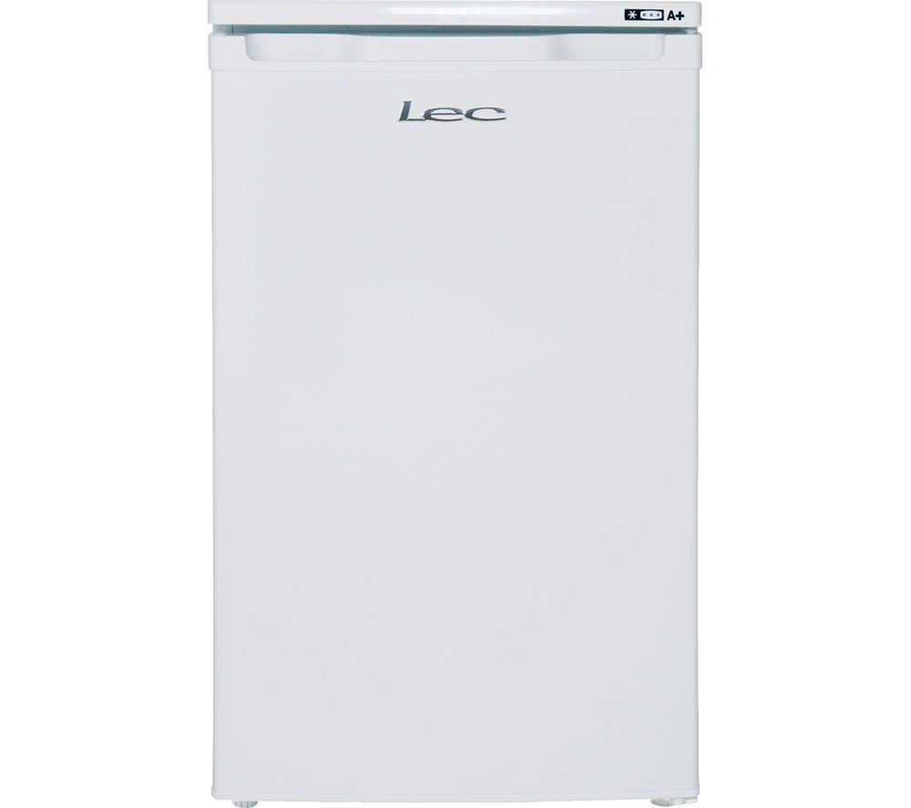 LEC U5511W Undercounter Freezer - White