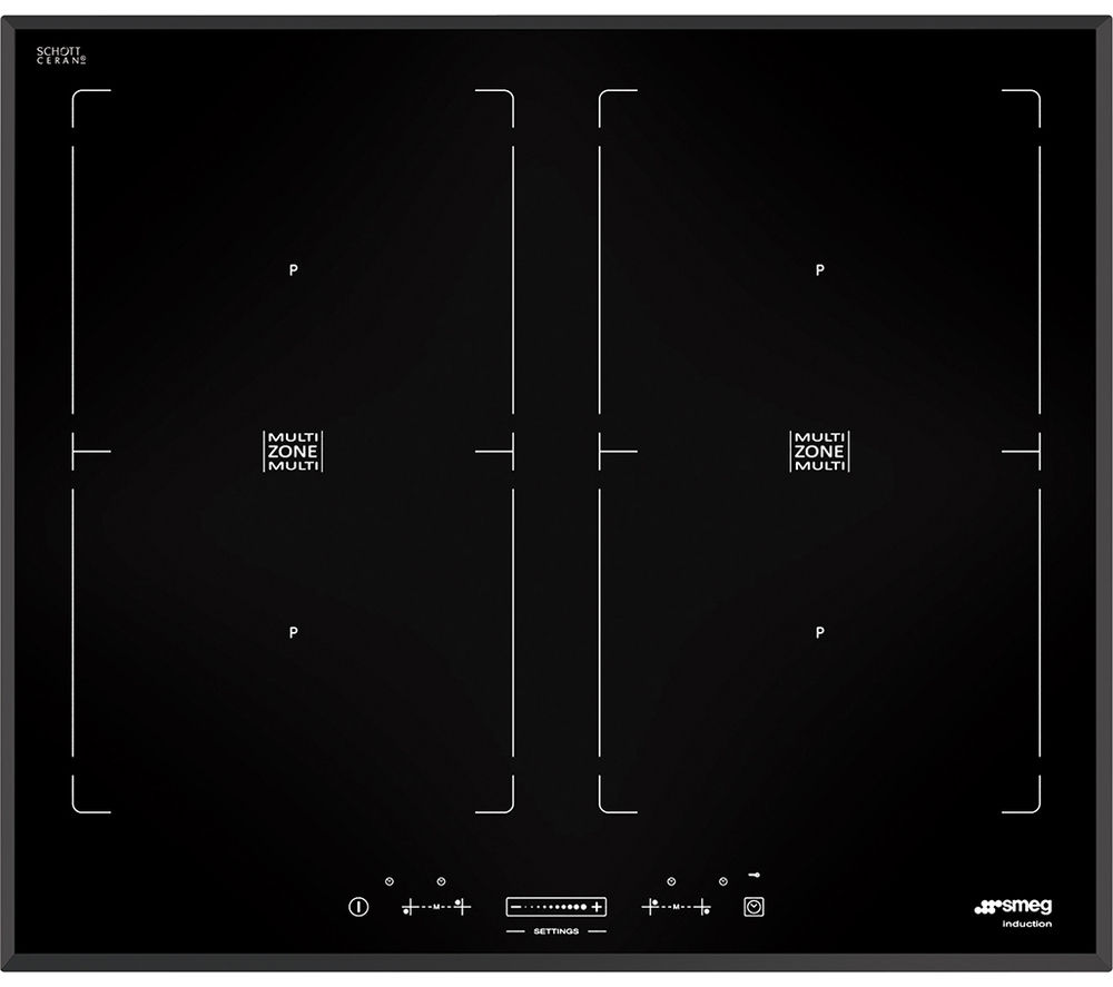 SMEG SIM562B Electric Induction Hob - Black
