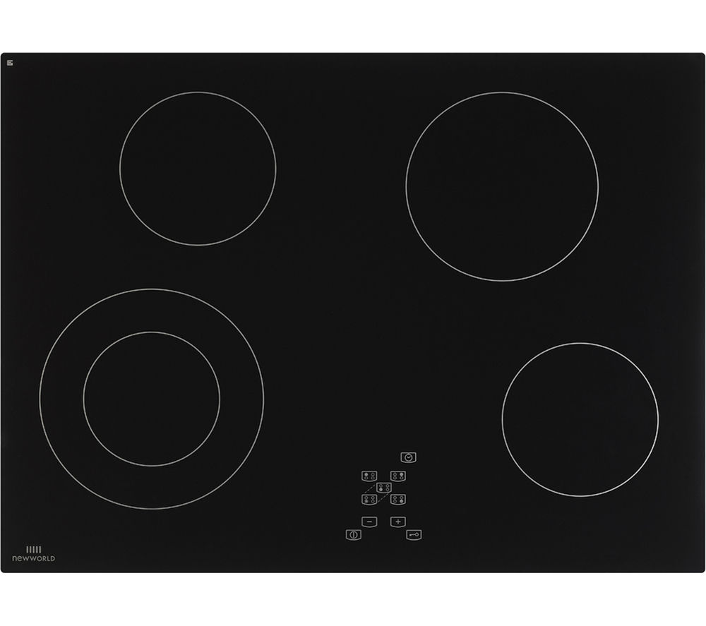NEW WORLD NWCT701 Ceramic Hob - Black