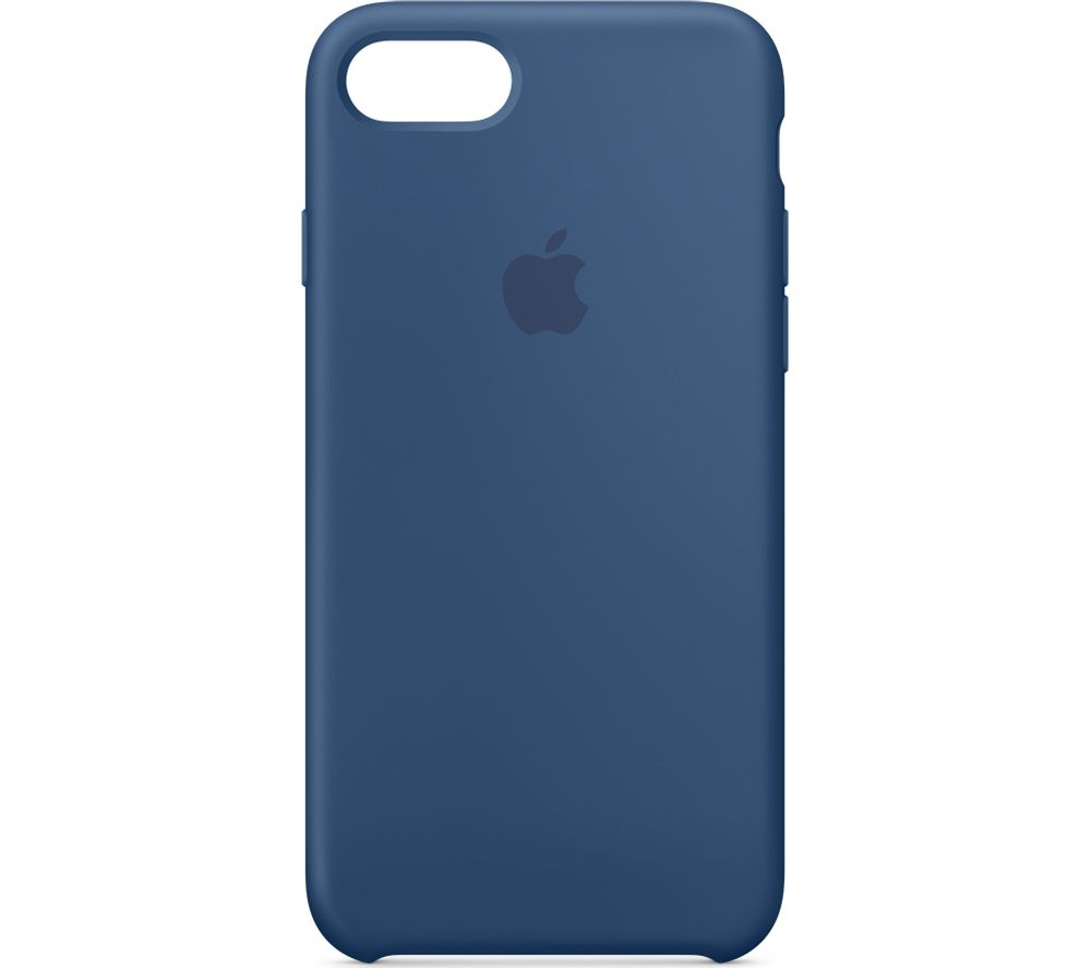 APPLE iPhone 8 & 7 Silicone Case - Ocean Blue, Blue cheapest retail price
