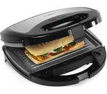 TOWER T27008 3-in-1 Sandwich Toaster - Black & Grey