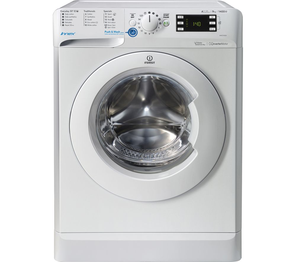 INDESIT Innex BWE 91484X W Washing Machine - White