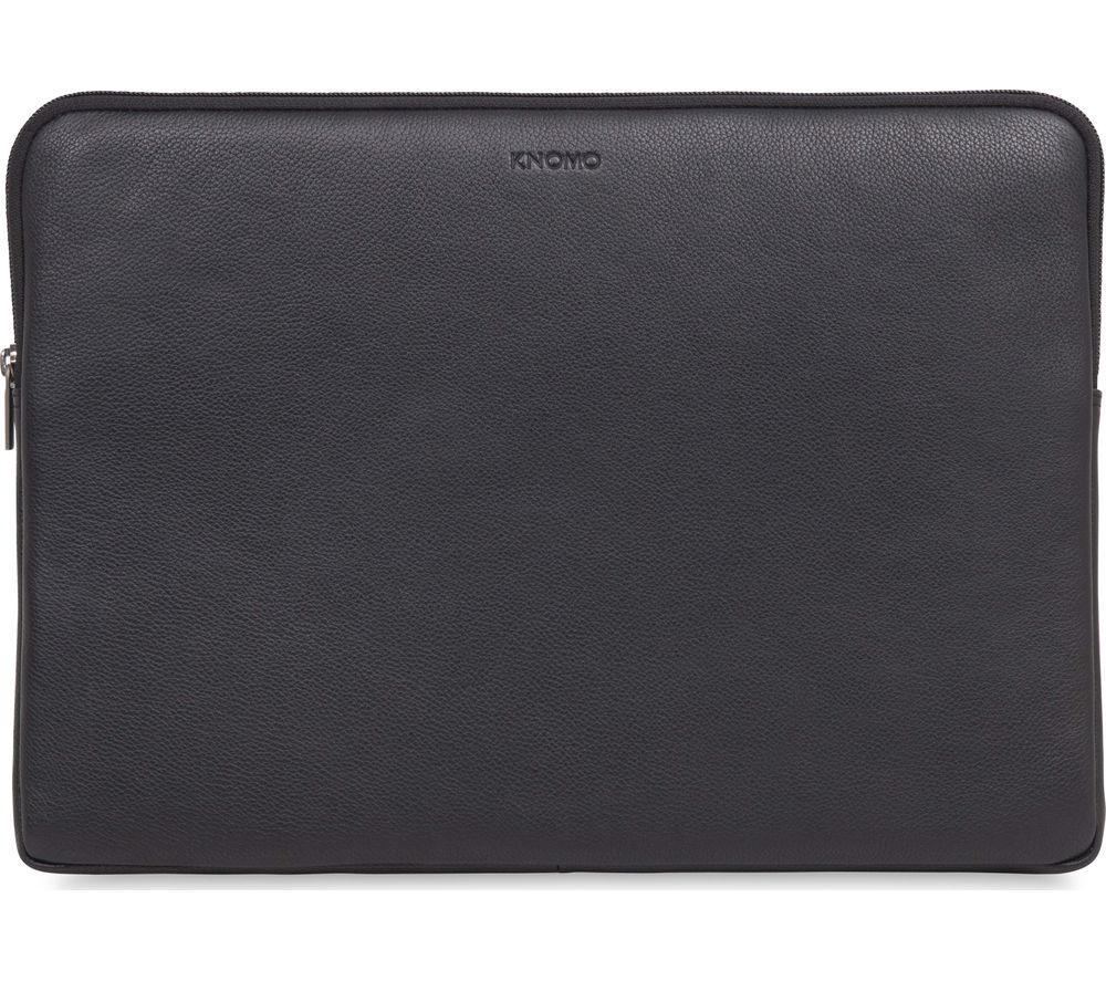 Compare retail prices of Knomo 45-102-BLK 15 Inch Leather Laptop Sleeve to get the best deal online