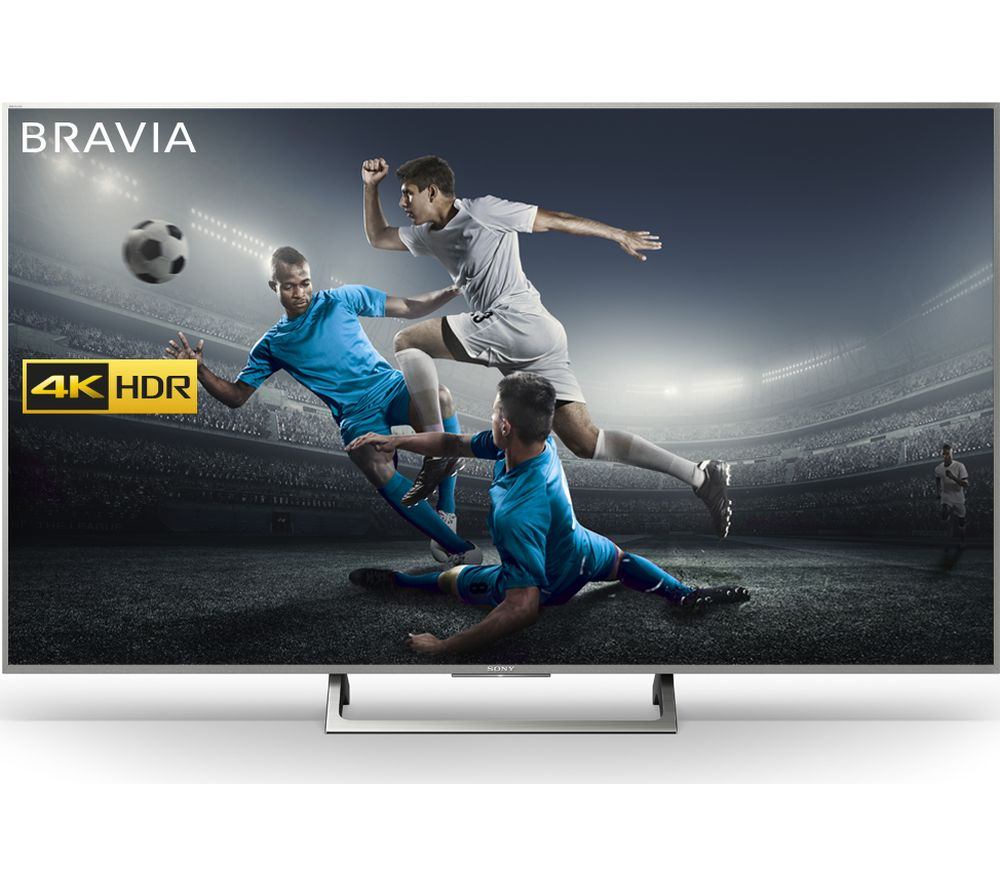"SONY BRAVIA KD55XE8577 55"" Smart 4K Ultra HD HDR LED TV + SFLEZ14 Medium to Large Fixed TV Bracket"