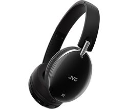 JVC HA-S90BN-B-E Wireless Bluetooth Noise-Cancelling Headphones - Black