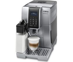DELONGHI Dinamica ECAM350.75S Bean to Cup Coffee Machine - Silver Best Price, Cheapest Prices