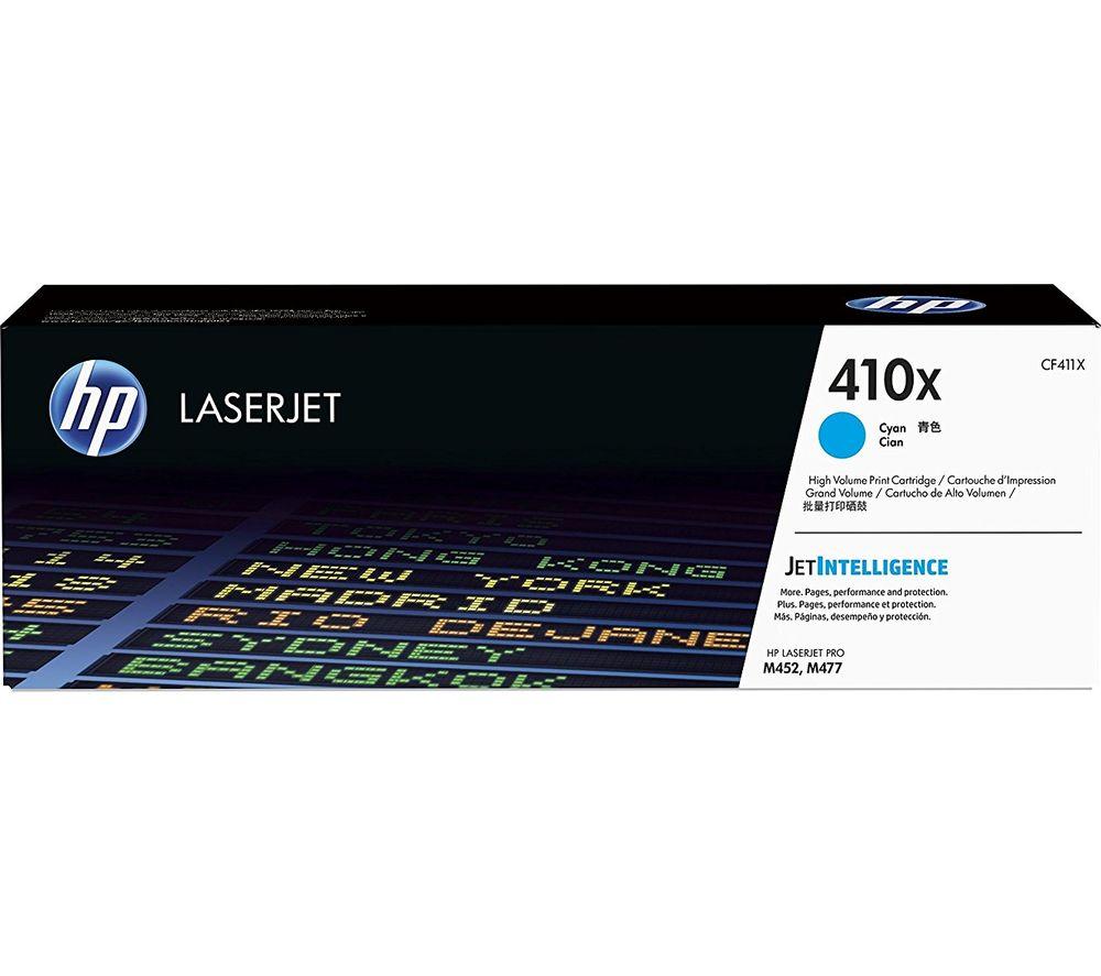 HP 410X High Yield Original LaserJet Cyan Toner Cartridge