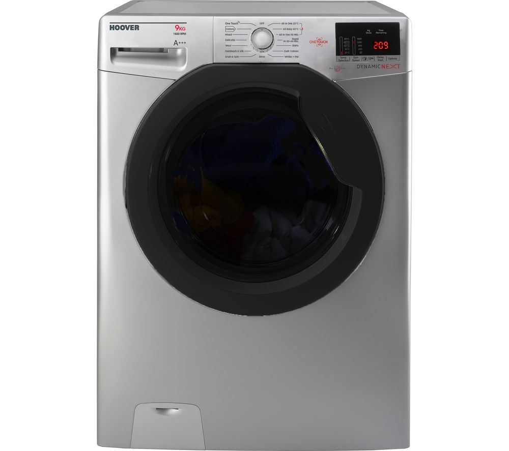 HOOVER Dynamic Next DXOC69AFN3R NFC 9 kg 1600 Spin Washing Machine - Graphite