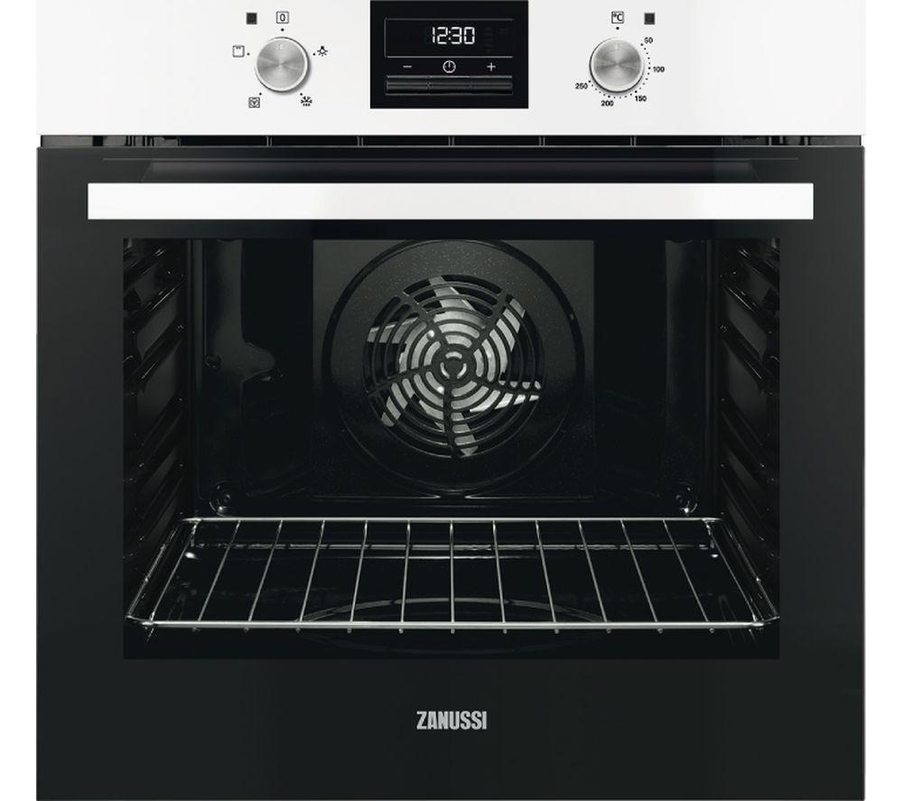 ZANUSSI ZOB35471WK Electric Oven – White Steel, White