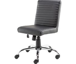 ALPHASON Lane Leather-look Operator Chair - Black