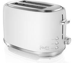 SWAN Fearne ST20010TEN 2-Slice Toaster - Truffle