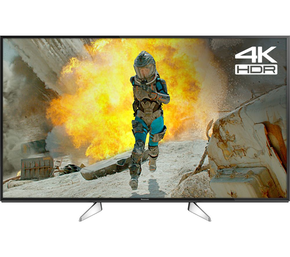"PANASONIC TX-55EX580B 55"" Smart 4K Ultra HD HDR LED TV + SFLEZ14 Medium to Large Fixed TV Bracket"