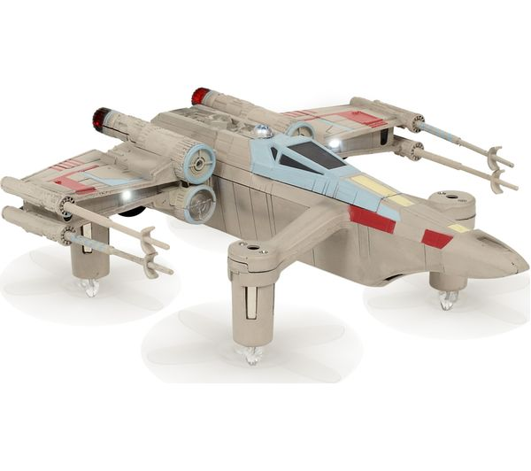 Image of PROPEL Star Wars Battling T-65 X-Wing Fighter Drone with Controller