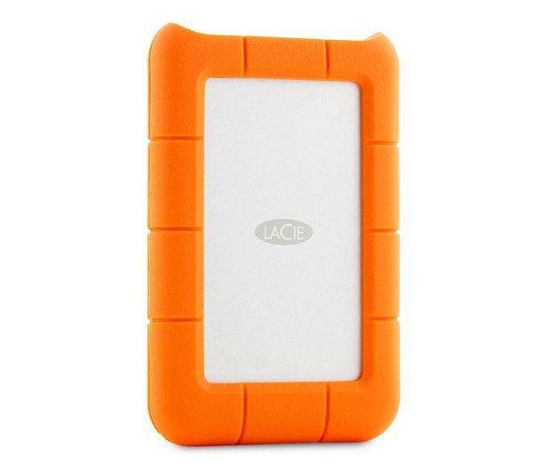 Lacie Rugged Mini Portable Hard Drive For Mac 1 Tb