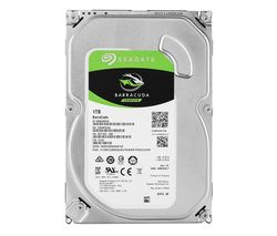 "SEAGATE BarraCuda 3.5"" Internal Hard Drive - 1 TB"