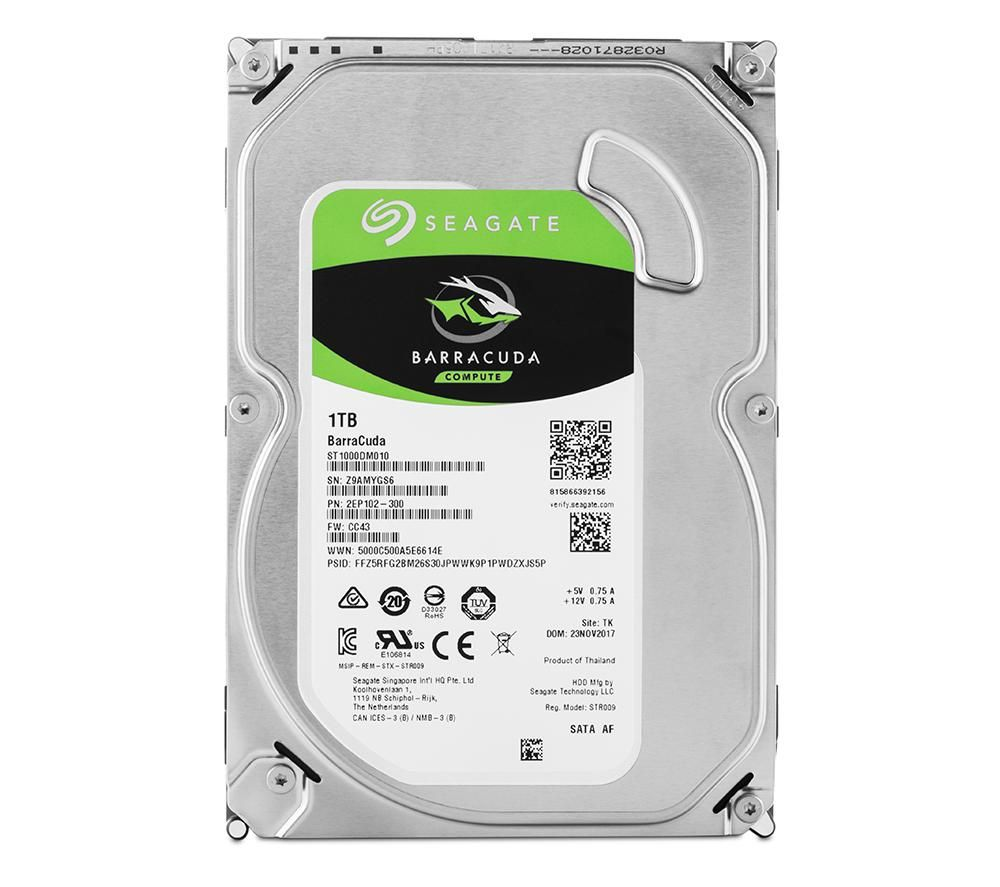 Compare retail prices of Seagate BarraCuda 3.5 Inch Internal Hard Drive - 1 TB to get the best deal online