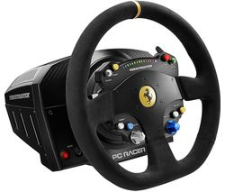THRUSTMASTER TS-PC Racer Ferrari 488 Challenge Edition Racing Wheel - Black