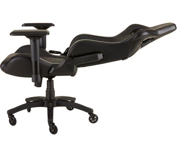 Brilliant Corsair T1 Race Gaming Chair Black Ibusinesslaw Wood Chair Design Ideas Ibusinesslaworg