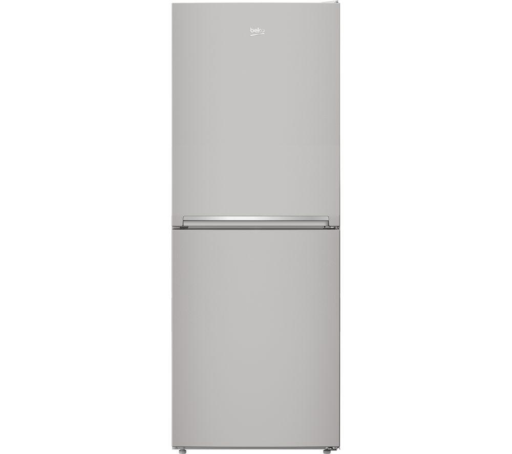 BEKO Slim American Style Fridge Freezer CXFG1790S 50/50 - Silver, Silver