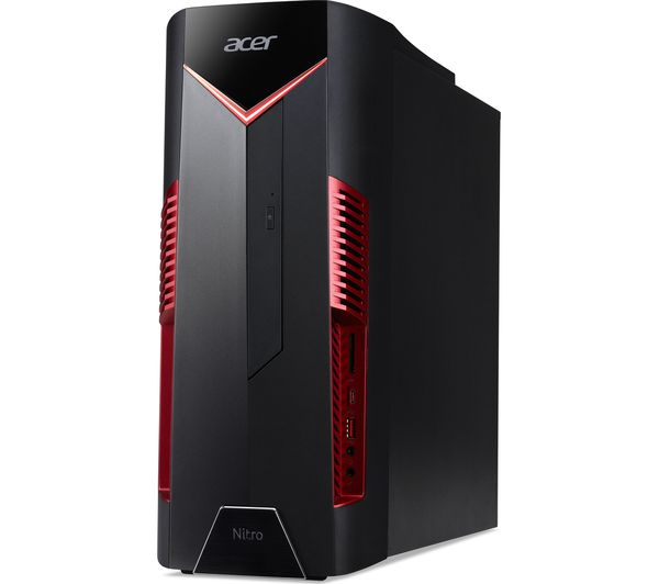 ACER Nitro N50-100 AMD Ryzen 7 GTX 1060 Gaming PC - 1 TB HDD & 256 GB SSD