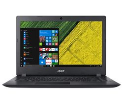 "ACER Aspire 1 A114-31 14"" Intel® Celeron® Laptop - 64 GB eMMC, Black"
