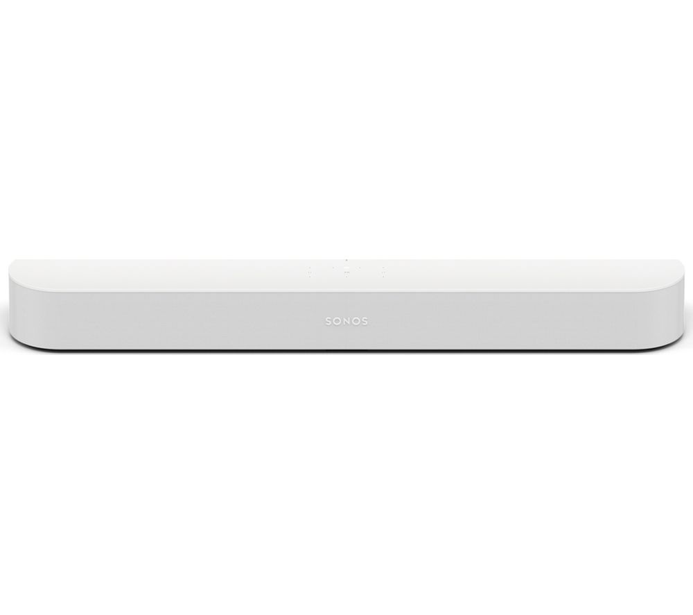 SONOS Beam 3.0 Compact Sound Bar - White, White