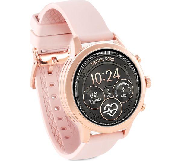 Buy Michael Kors Access Runway Mkt5048 Smartwatch Rose Gold Pink