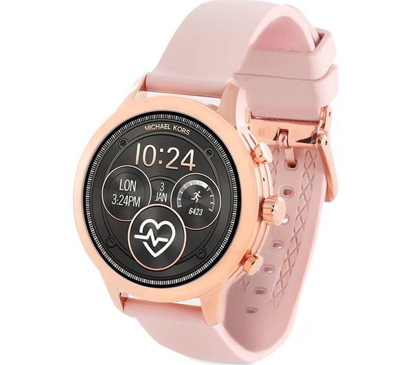 e3628ba195a9 Buy MICHAEL KORS Access Runway MKT5048 Smartwatch - Rose Gold   Pink ...