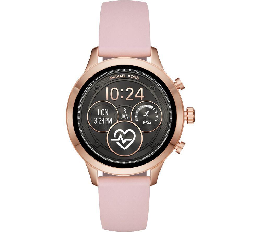 8832cf79de4b Buy MICHAEL KORS Access Runway MKT5048 Smartwatch - Rose Gold   Pink ...