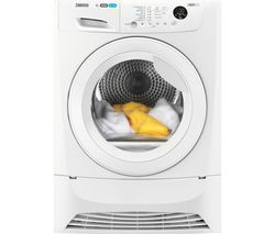 ZDC8203WZ 8 kg Condenser Tumble Dryer - White